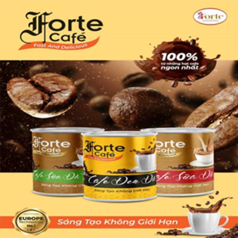 Cafe sữa đá Forte hòa tan