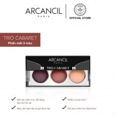Phấn Mắt Lì 3 Màu Trio Cabaret