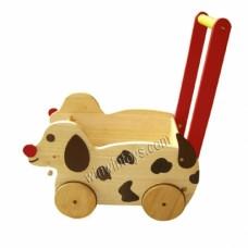 Xe chó chở đồ chơi