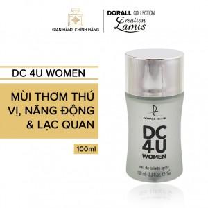 Nước hoa nữ DC 4U WOMEN - 100ml
