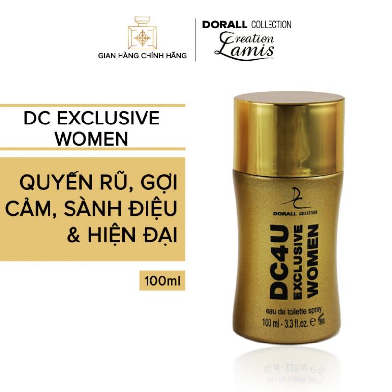 Nước hoa nữ DC 4U EXCLUSIVE WOMEN - 100ml