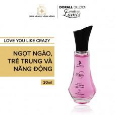 Nước hoa nữ LOVE YOU LIKE CRAZY - 30ml