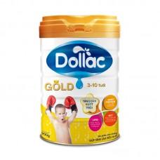 Sữa bột tăng trưởng cho bé Dollac Gold 900g