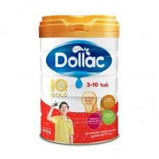 Sữa bột tăng trưởng cho bé Dollac IQ Gold 900g