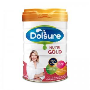 Sữa bột chức năng cải thiện sức khỏe Dolsure Nutri Gold 900g